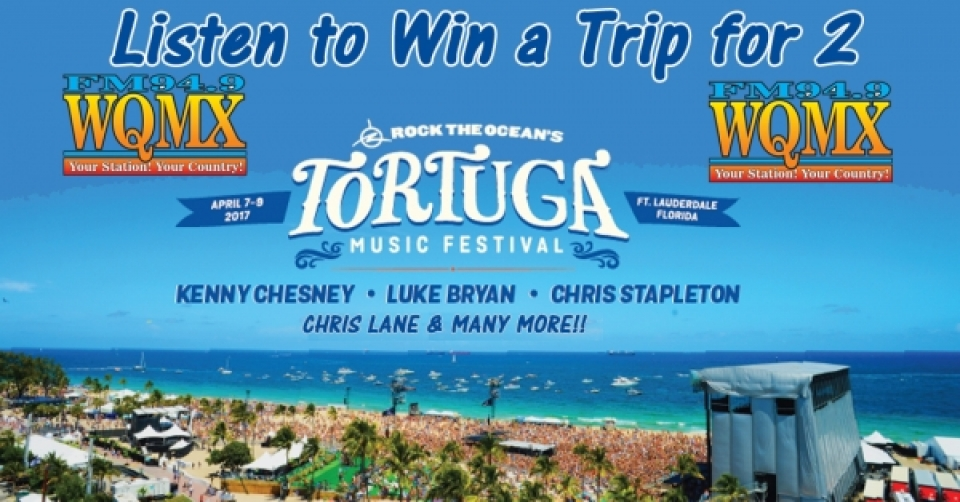Win a Trip to Tortuga Music Festival