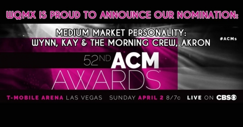 ACM Award Nominated: Wynn, Kay & The Morning Crew - Medium Market Personality