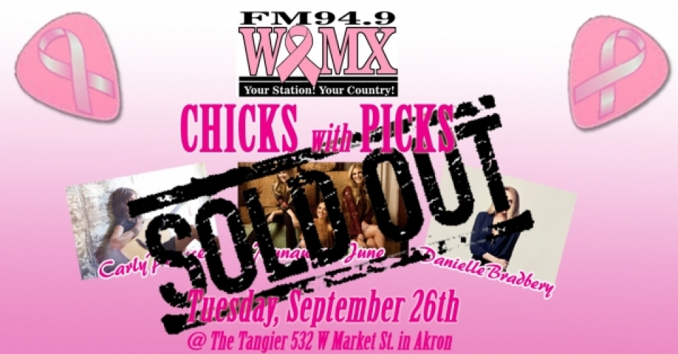 WQMX Chicks with Picks 2017