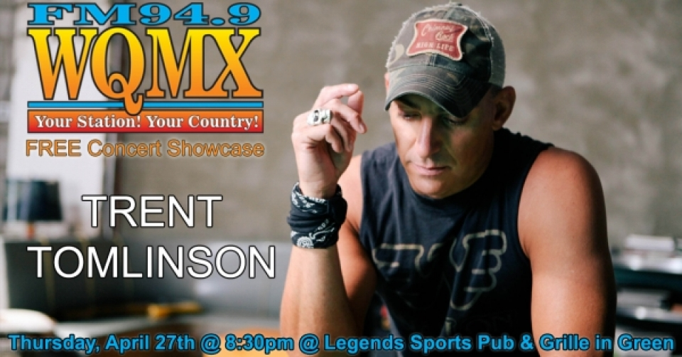 WQMX Concert Showcase with Trent Tomlinson
