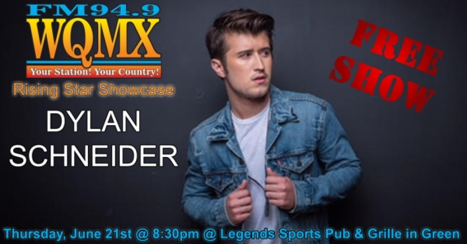 WQMX Rising Star Showcase with Dylan Schneider