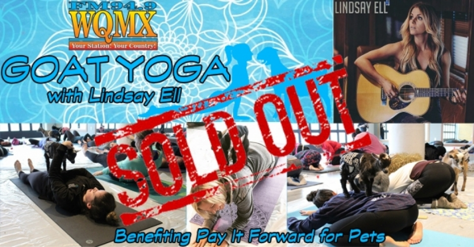 WQMX Goat Yoga with Lindsay Ell *SOLD OUT*