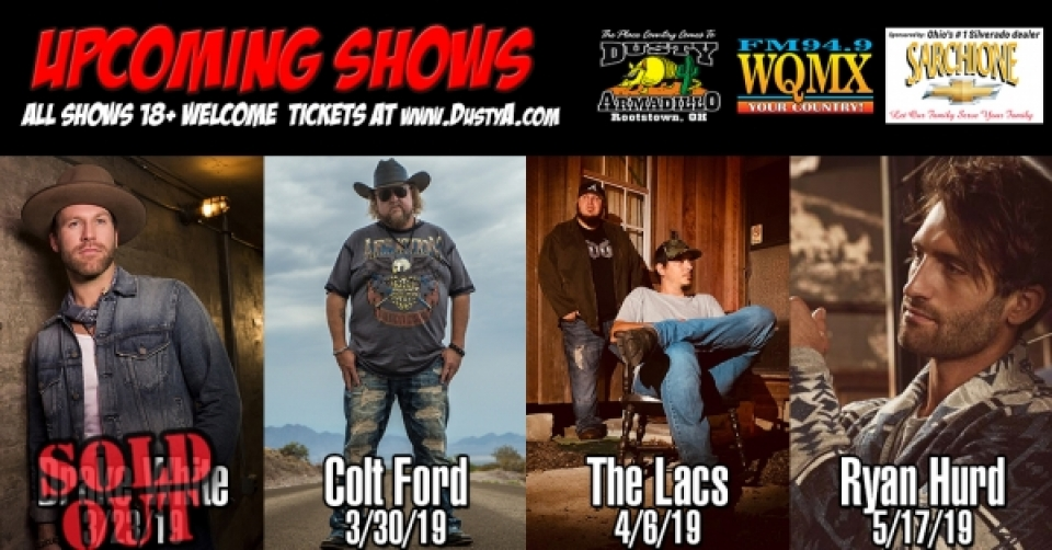 Dusty Armadillo Concert Series 2018