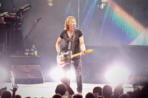 Keith Urban performs at Blossom Music Center, 2018