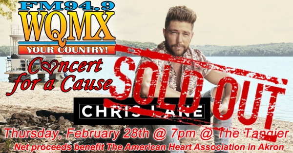 WQMX Charity Concert with Chris Lane