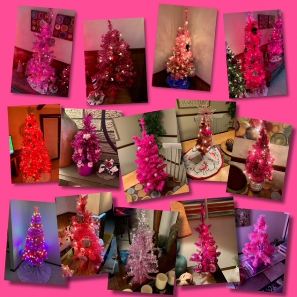 All the Pink Christmas Trees Are Up! Too Soon? Nahhhh!