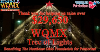 WQMX Tree of Lights 2019