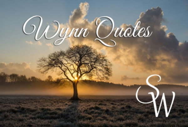 WYNN - Wynn Quotes - Leaving Cards On The Table