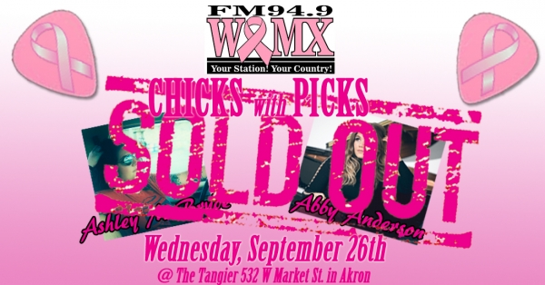 WQMX Chicks with Picks 2018- SOLD OUT!