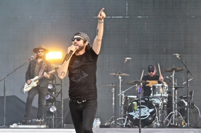 Chris Janson performs at The Country Fest