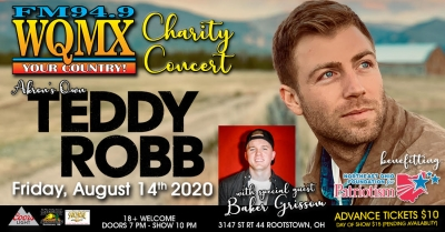 WQMX Charity Concert with Teddy Robb