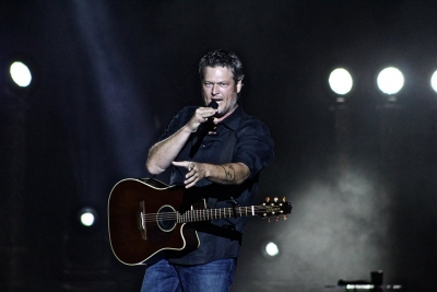 Blake Shelton performs at The Country Fest, 2018
