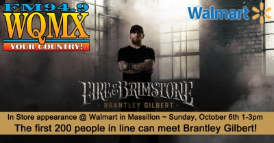 Brantley Gilbert In Store @ Walmart
