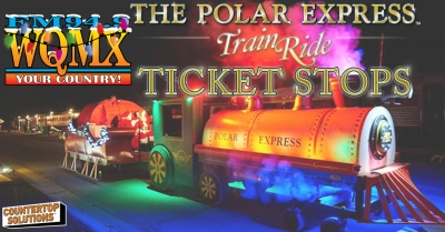 The Polar Express Ticket Stops 2019
