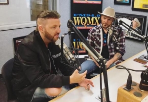 LOCASH Visits the WQMX Studio, March 2019