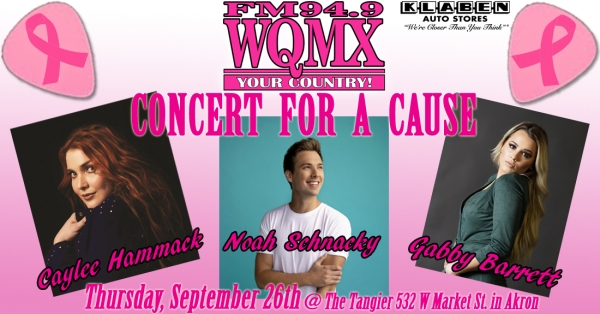 WQMX Concert for a Cause 2019
