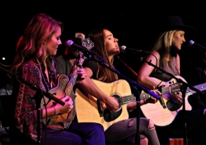 Runaway June performs at the WQMX Chicks with Picks Charity Concert, 2017