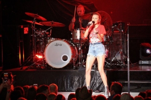 Kelsea Ballerini performs at Blossom Music Center