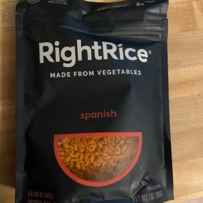 Veggie Rice: New Food Find!