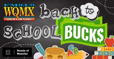 WQMX Back to School Bucks Contest
