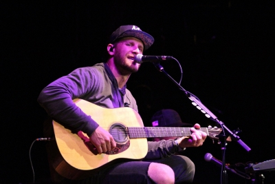 Chase Rice Performs at the WQMX Concert For A Cause in 2018