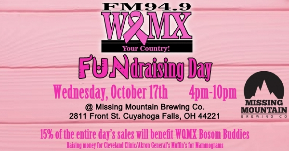 WQMX FUNdraising Day @ Missing Mountain Brewing Co.