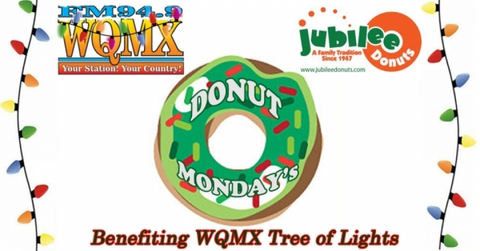 WQMX Donut Monday's at Jubilee Donuts