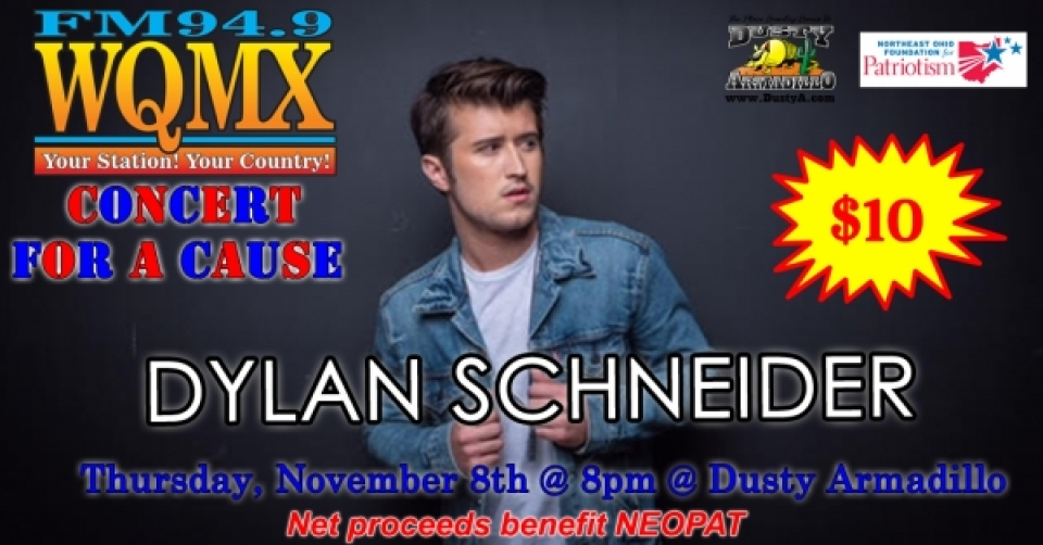 WQMX Charity Concert with Dylan Schneider
