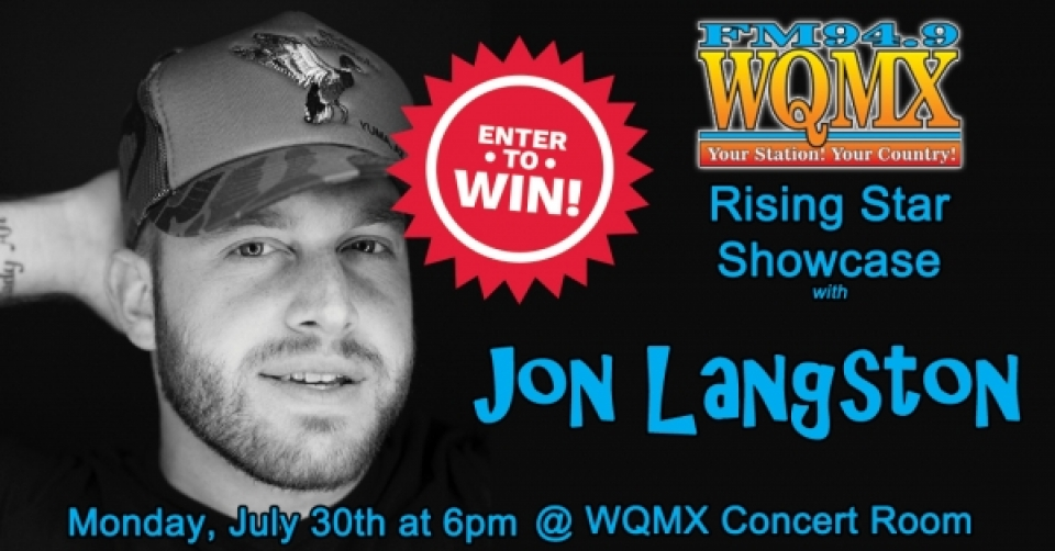 WQMX Rising Star Showcase with Jon Langston