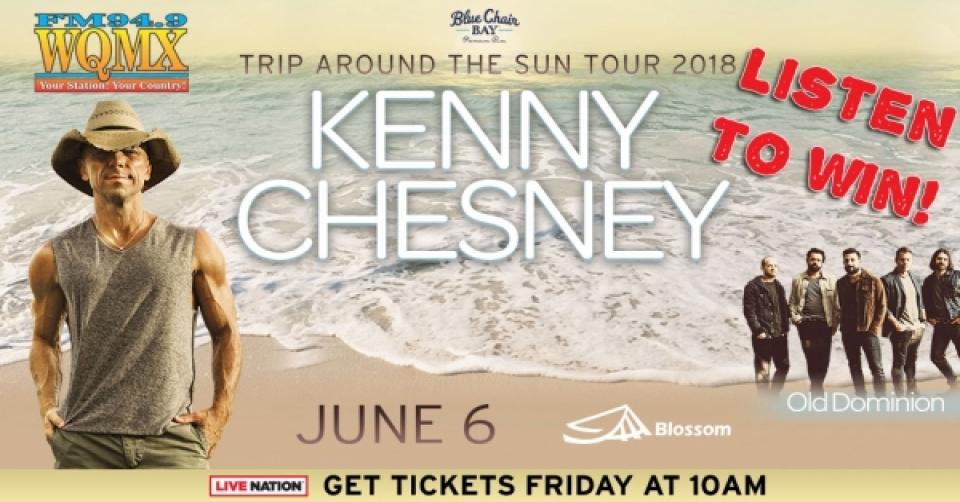 Kenny Chesney 2018
