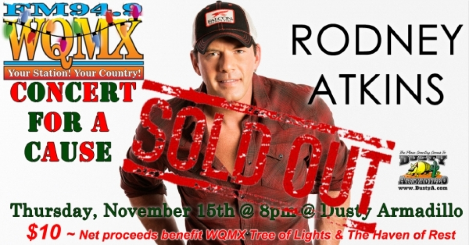 WQMX Charity Concert with Rodney Atkins