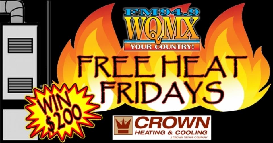 WQMX Free Heat Fridays 2019